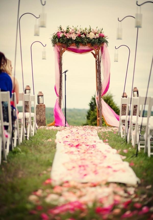outdoor wedding decorations rustic