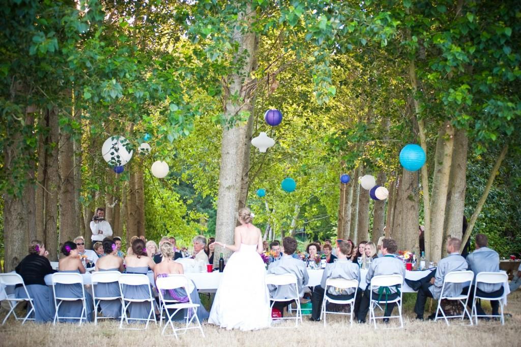 Image of: outdoor wedding decorations uk