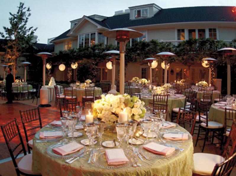 Image of: outdoor wedding decorations utah