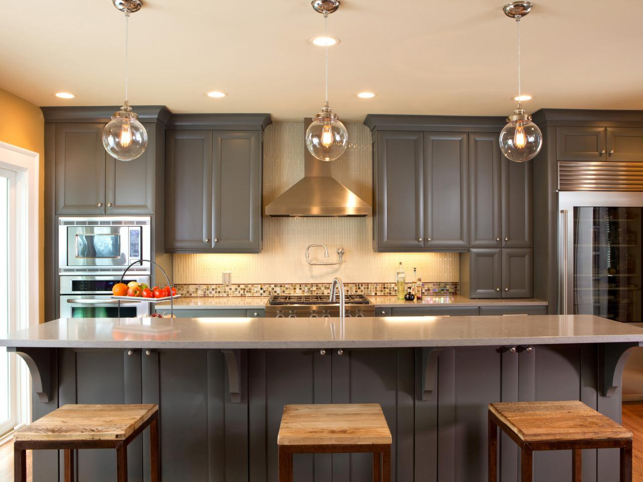Image of: painting kitchen cabinets ideas