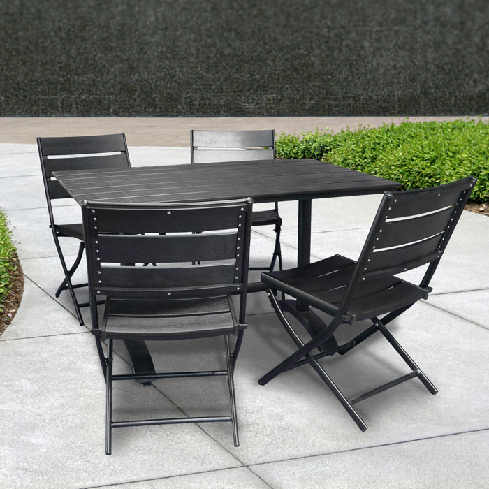 Image of: patio folding table