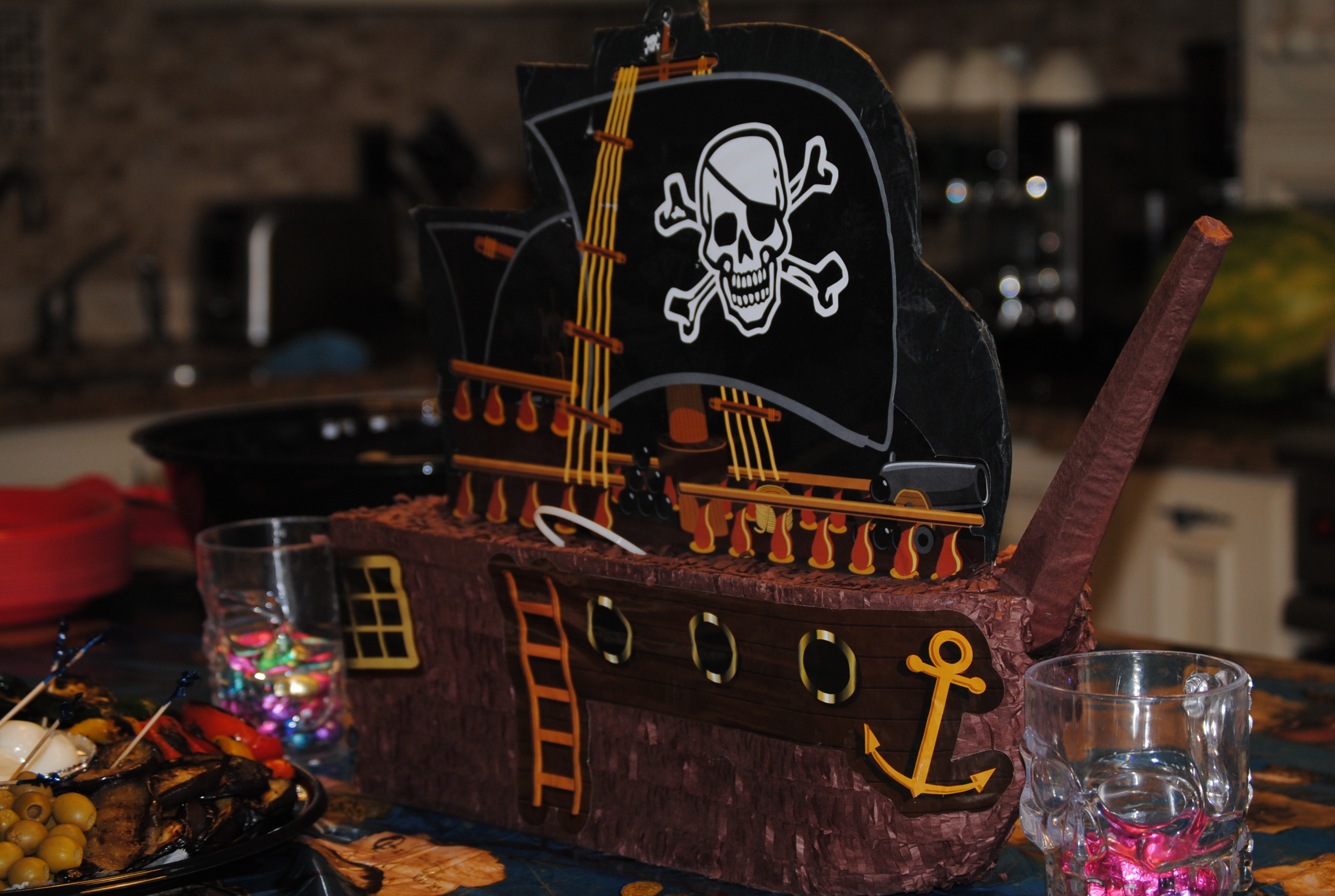 Image of: pirate decor