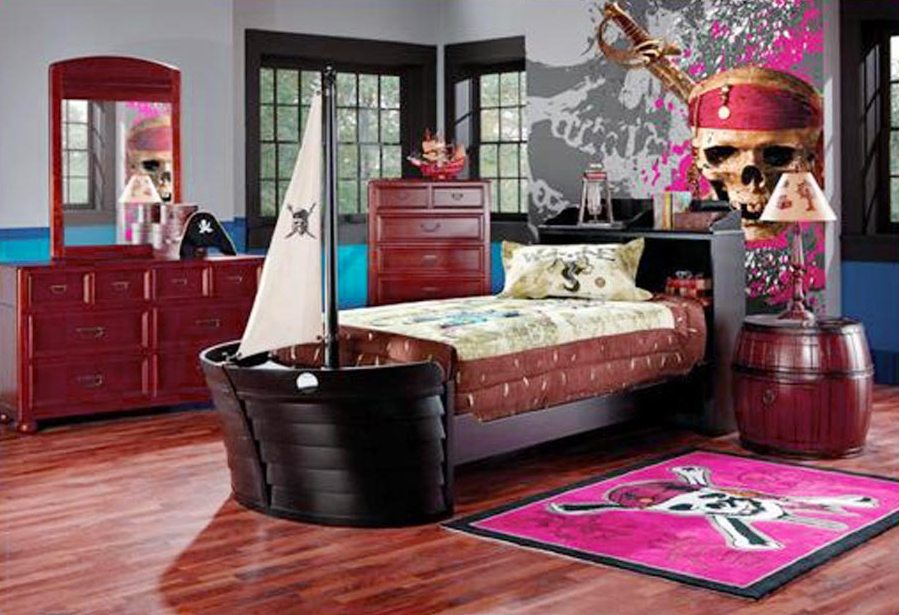 Image of: pirate room decor