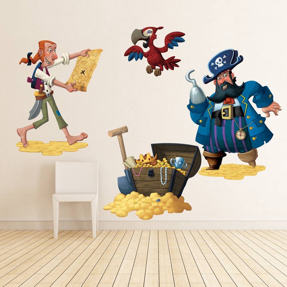 Image of: pirate wall decor