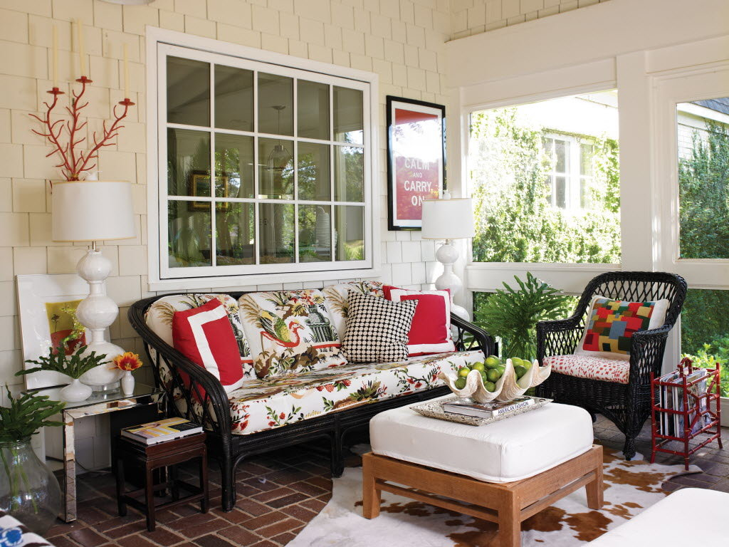 Image of: porch decorating ideas
