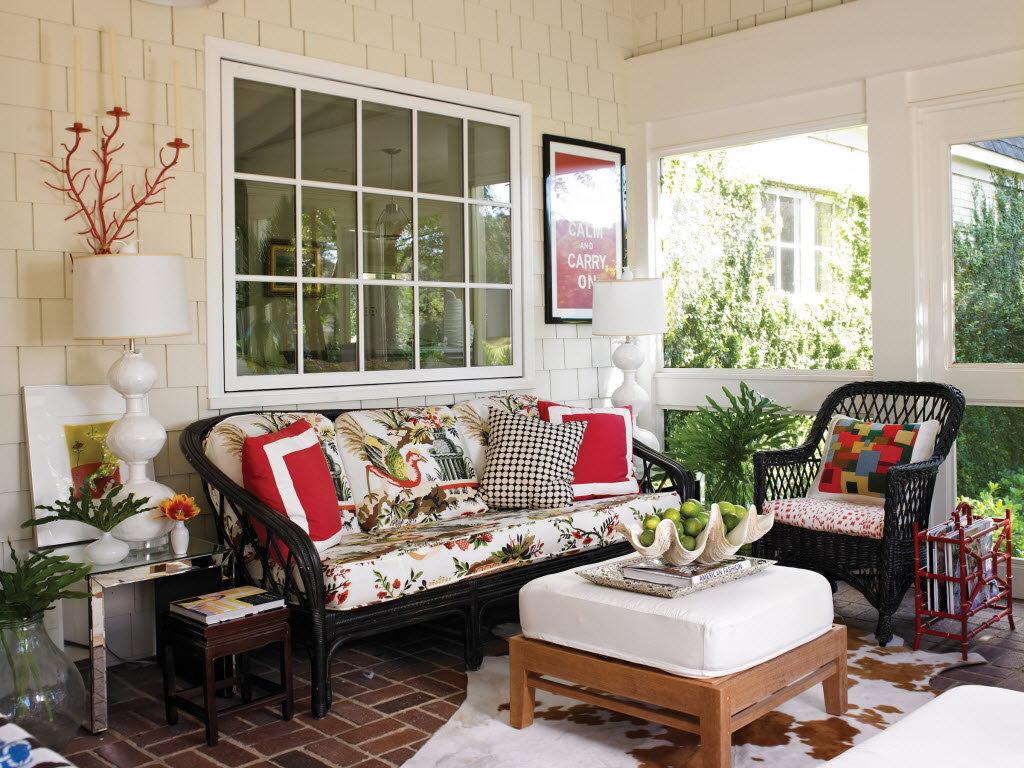 Image of: porch decorating ideas