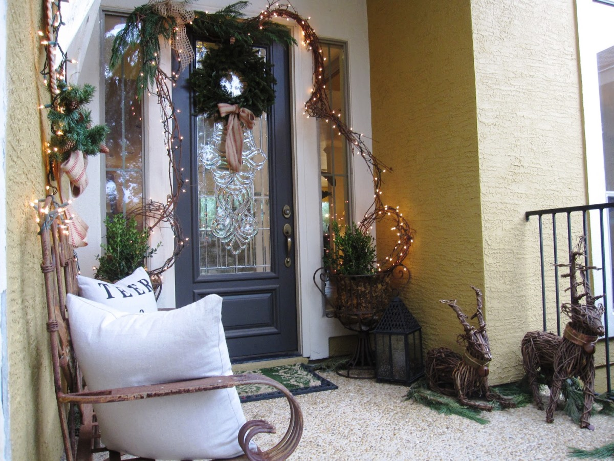Image of: porch decorations