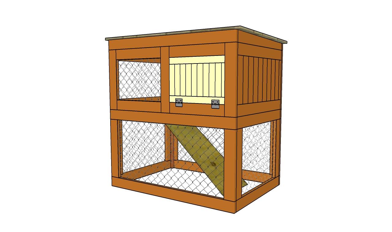rabbit hutch building plans free