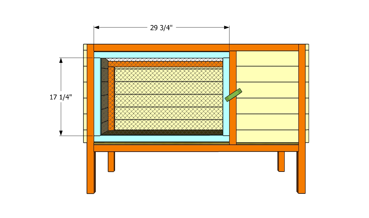 rabbit hutch building plans