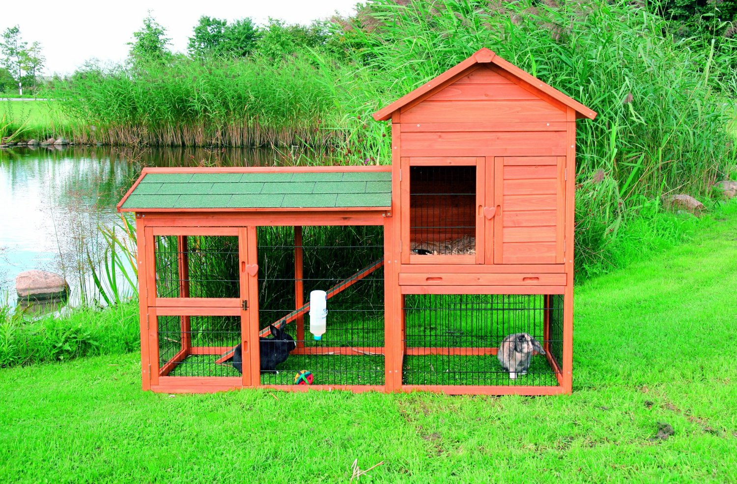 Image of: rabbit hutch designs diy