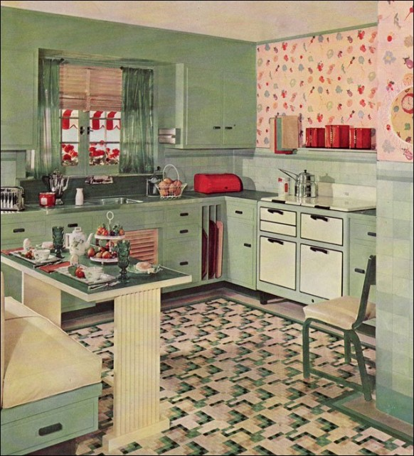 Image of: retro kitchen makeover ideas