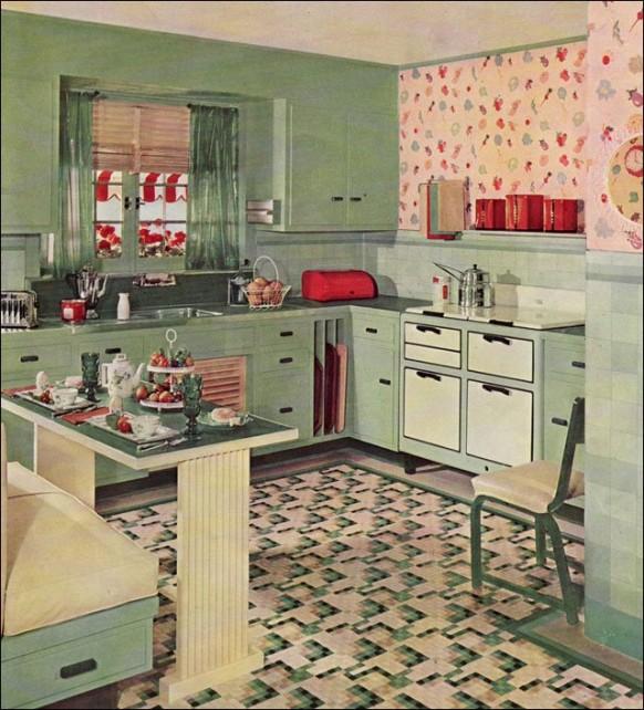 Image of: retro kitchen makeover ideas