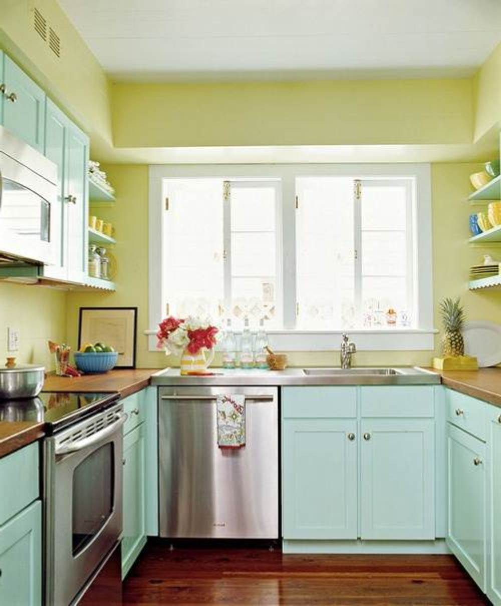 Image of: retro kitchen paint ideas