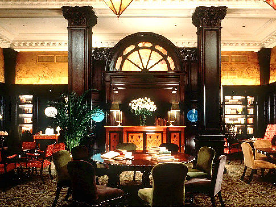 round table at algonquin hotel
