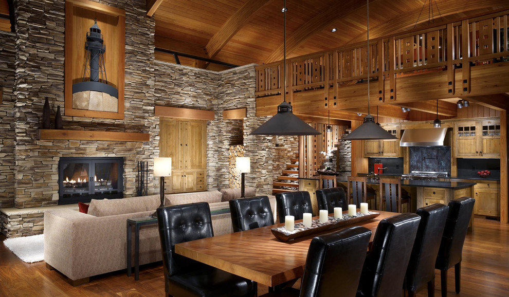 Image of: rustic cabin decorations