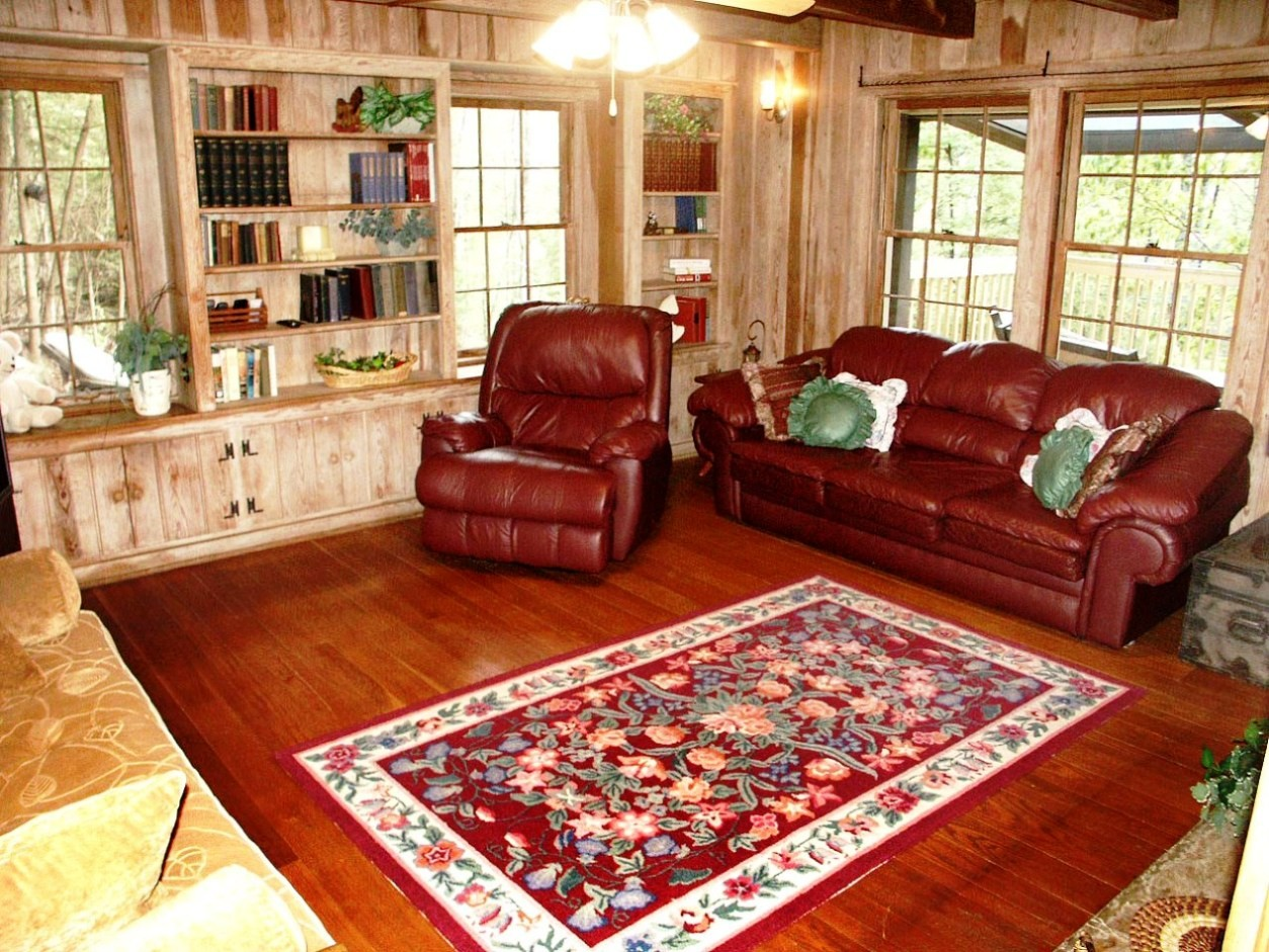 Image of: rustic decorating ideas for living rooms