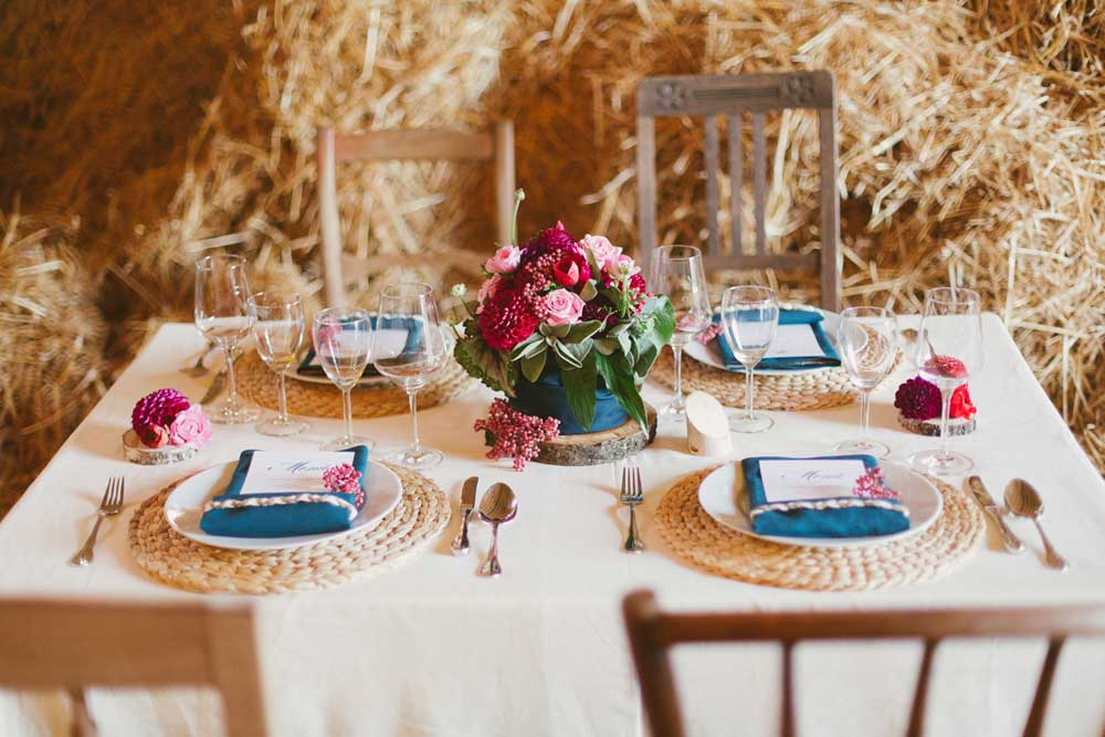 Image of: rustic wedding decor ideas