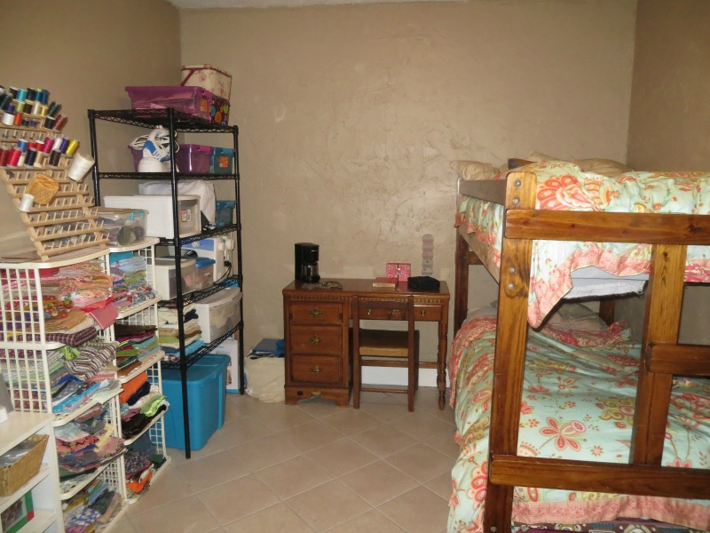 Image of: sewing room and bedroom