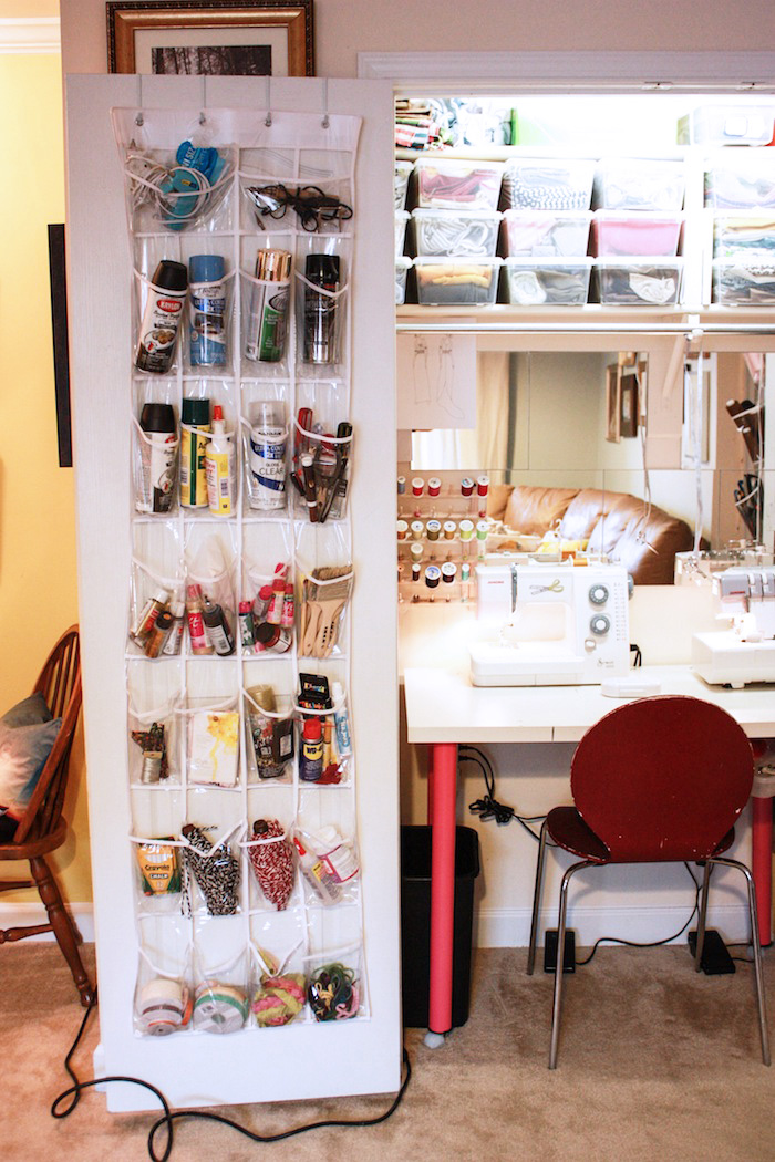 sewing room closet ideas