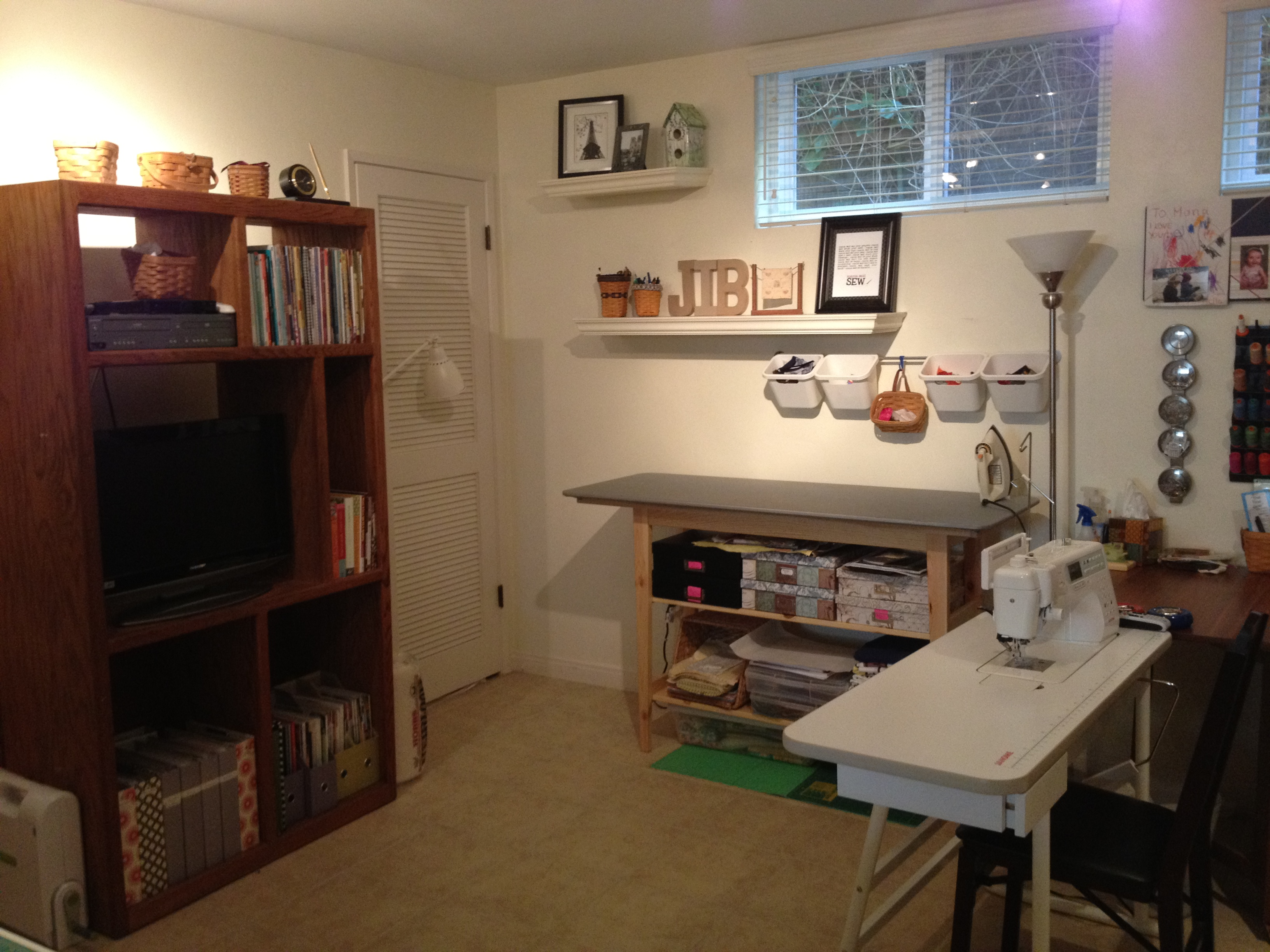 Image of: sewing room design books