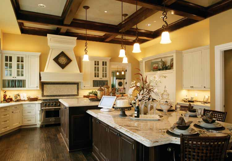 Image of: small kitchen big design