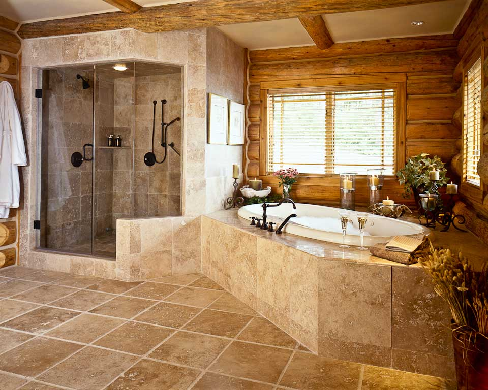Image of: southwestern bathroom decor
