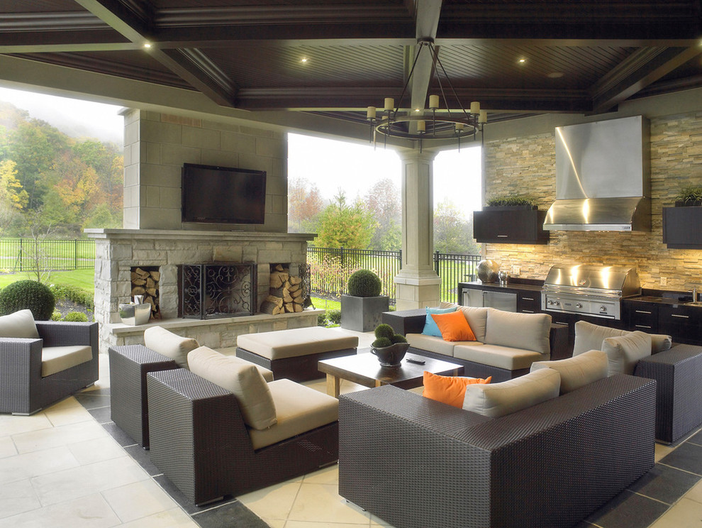 Image of: southwestern outdoor decor