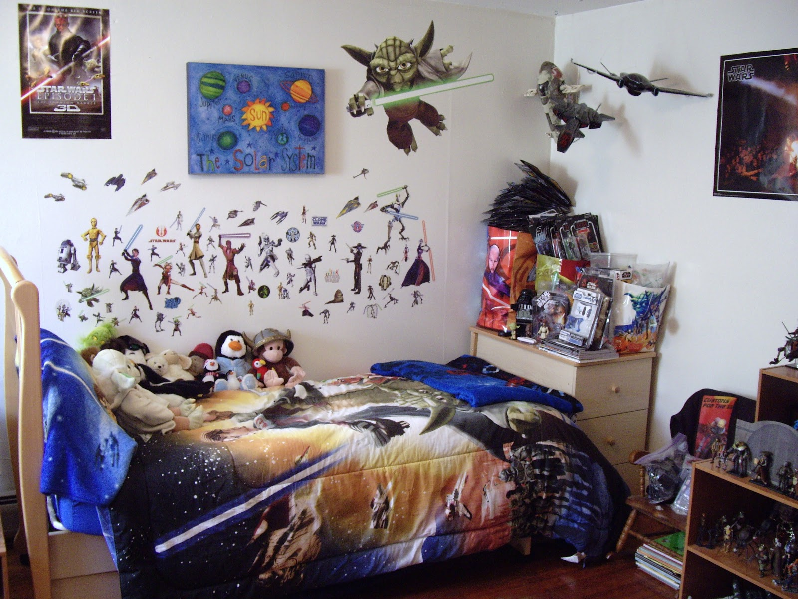 Image of: star wars bedroom decor
