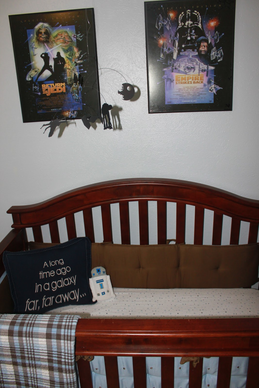 Image of: star wars nursery decor