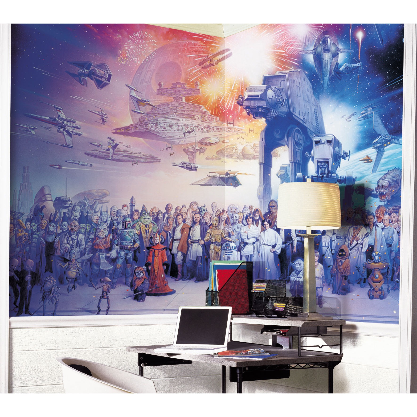 Image of: star wars wall decor
