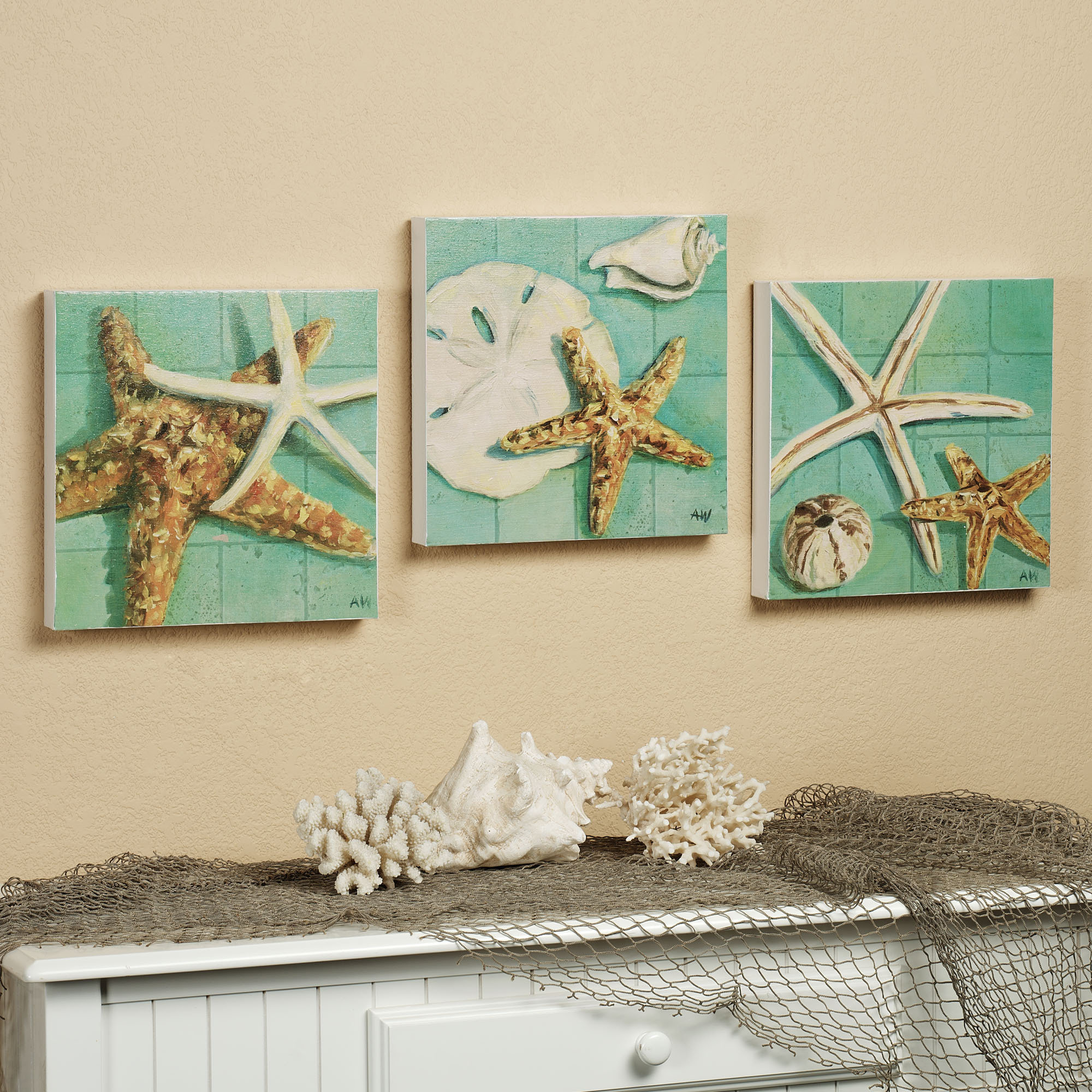 Image of: starfish decorations