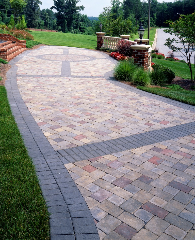 Image of: stone patio design ideas