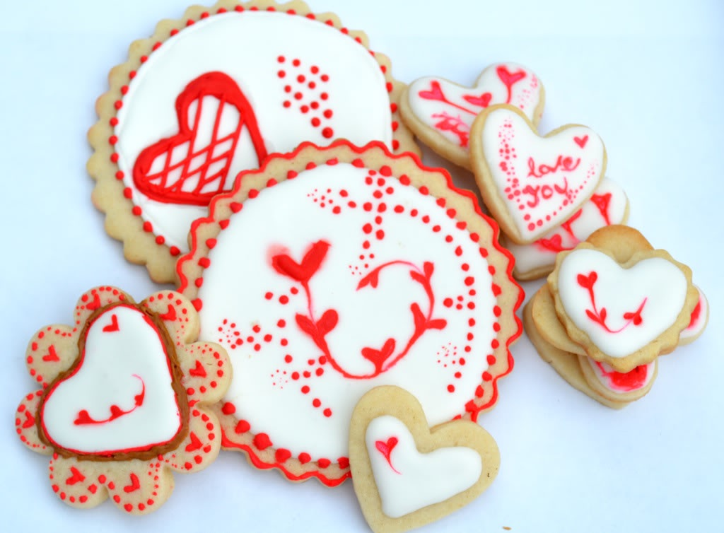 Image of: sugar cookies decorating