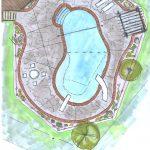 swimming pool designs drawings