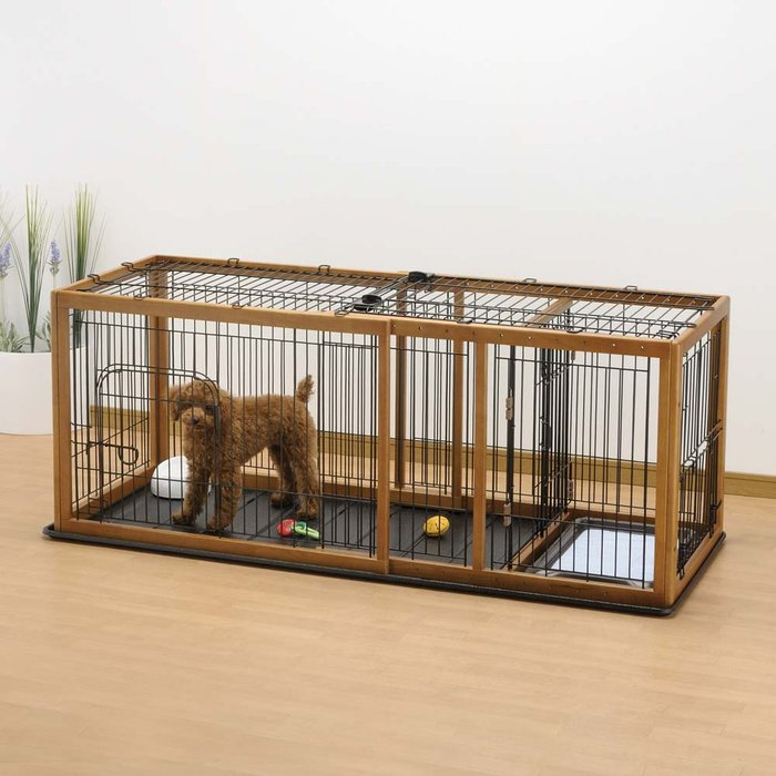 Image of: table dog crate