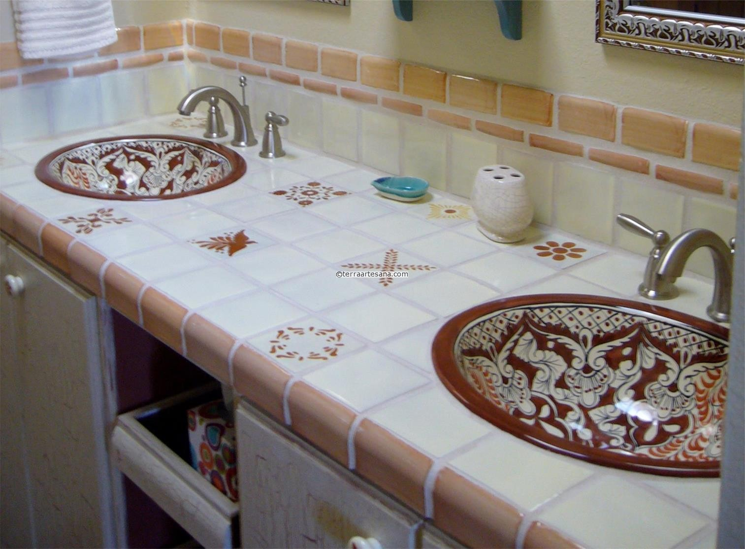 Mexican Tile Backsplash Designs Icmt