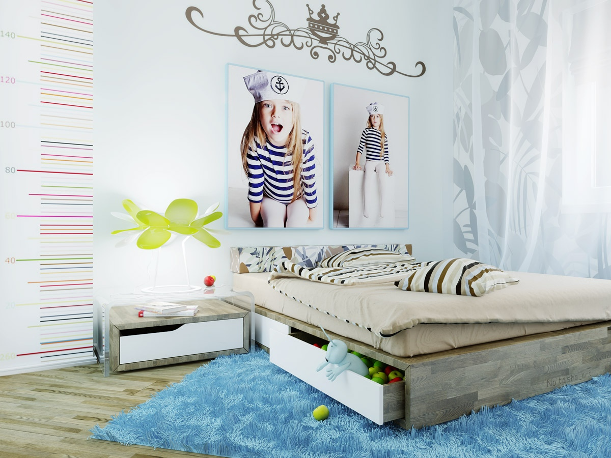 Image of: teenage girl bedroom decorating ideas