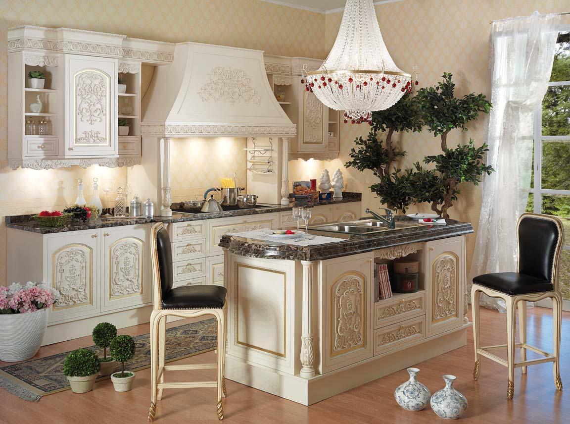 Image of: tuscan decor kitchen
