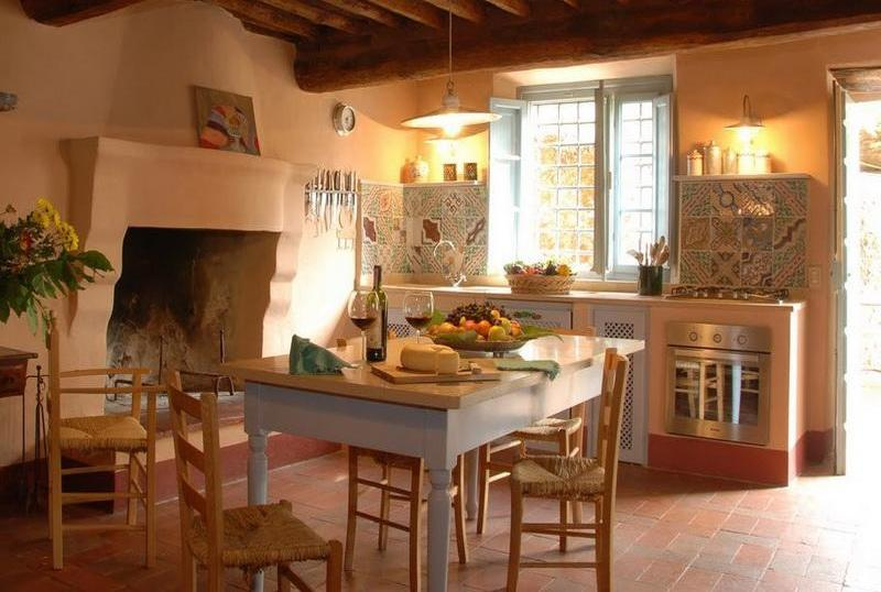 Image of: tuscan kitchen decor accents