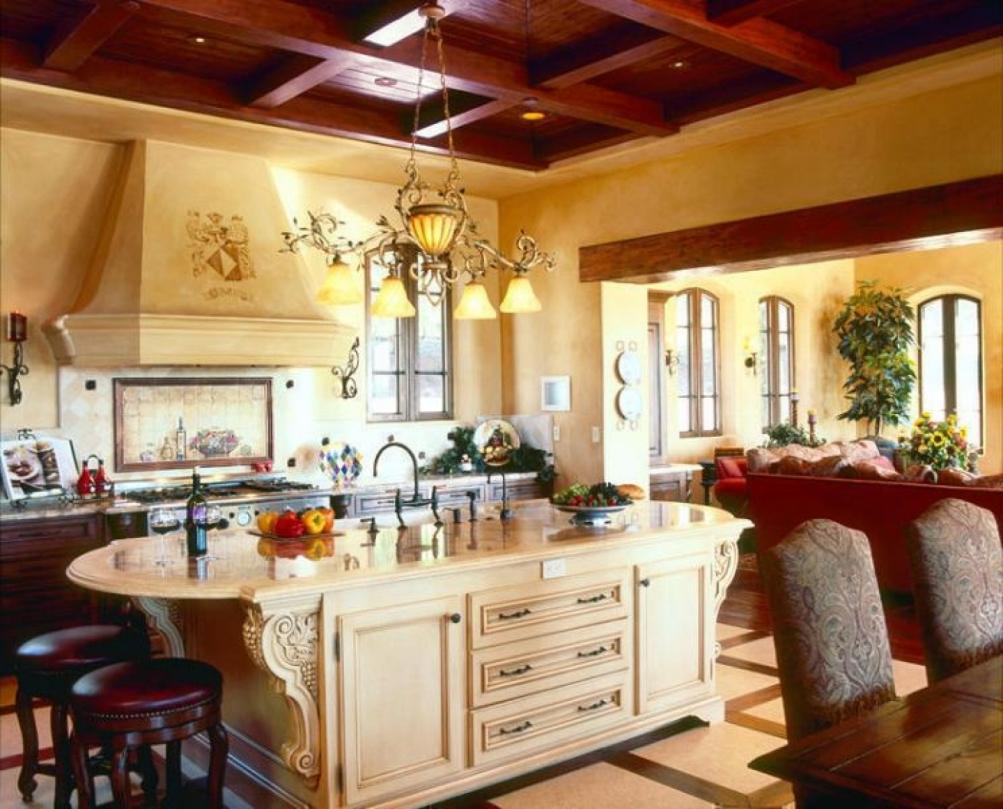 tuscan style kitchen decor