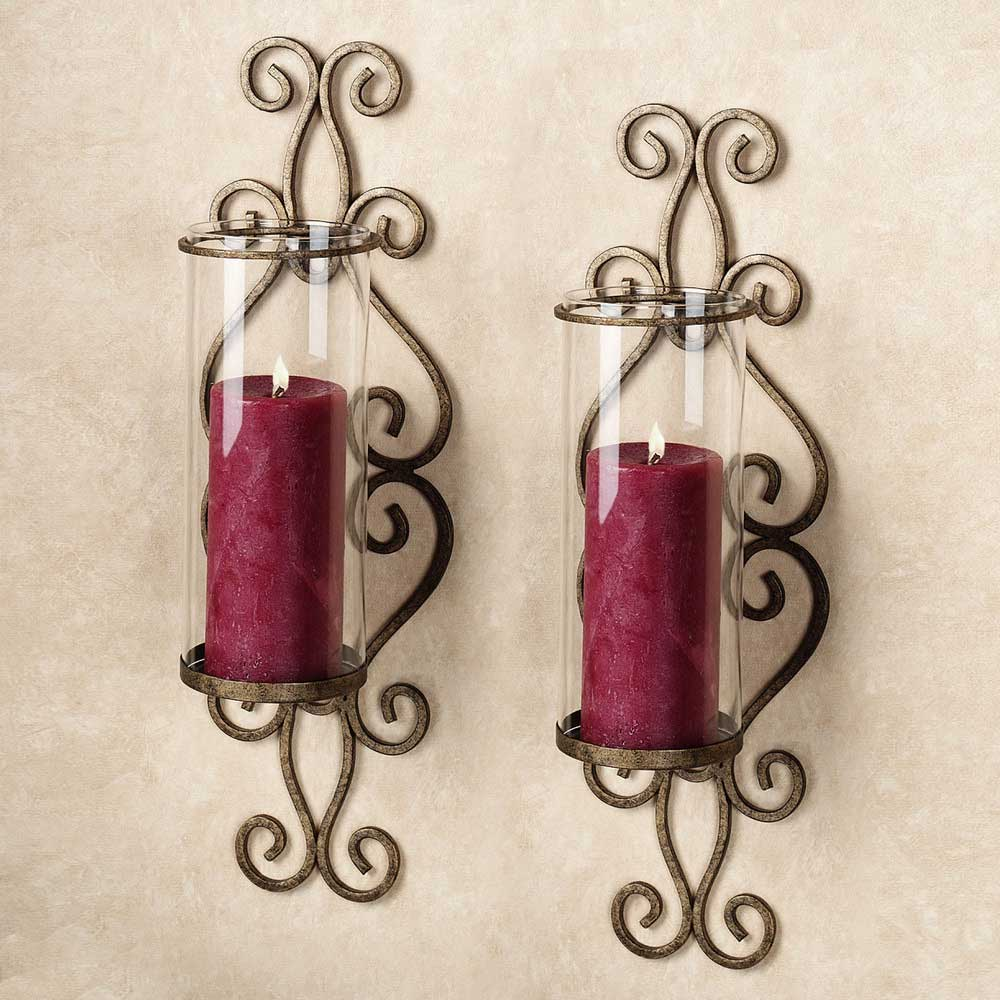 wall candle decor