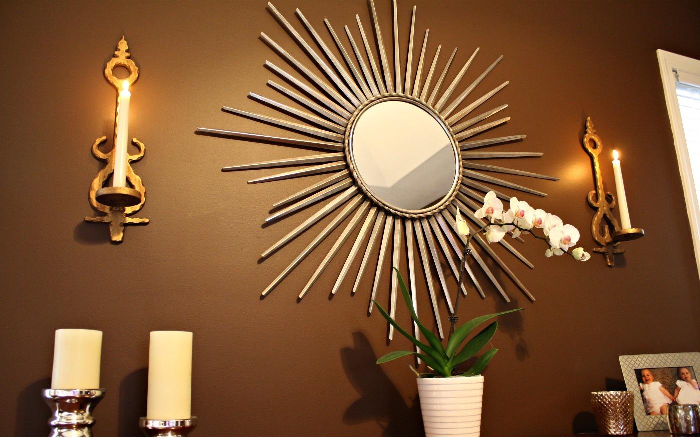 Image of: wall decor mirror