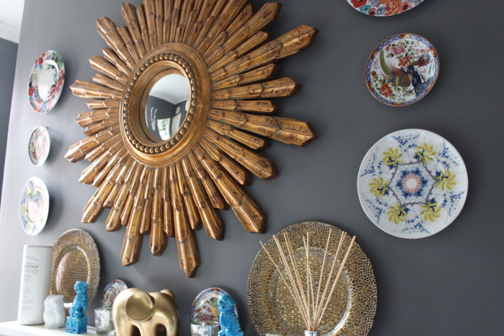 Image of: wall decor plates