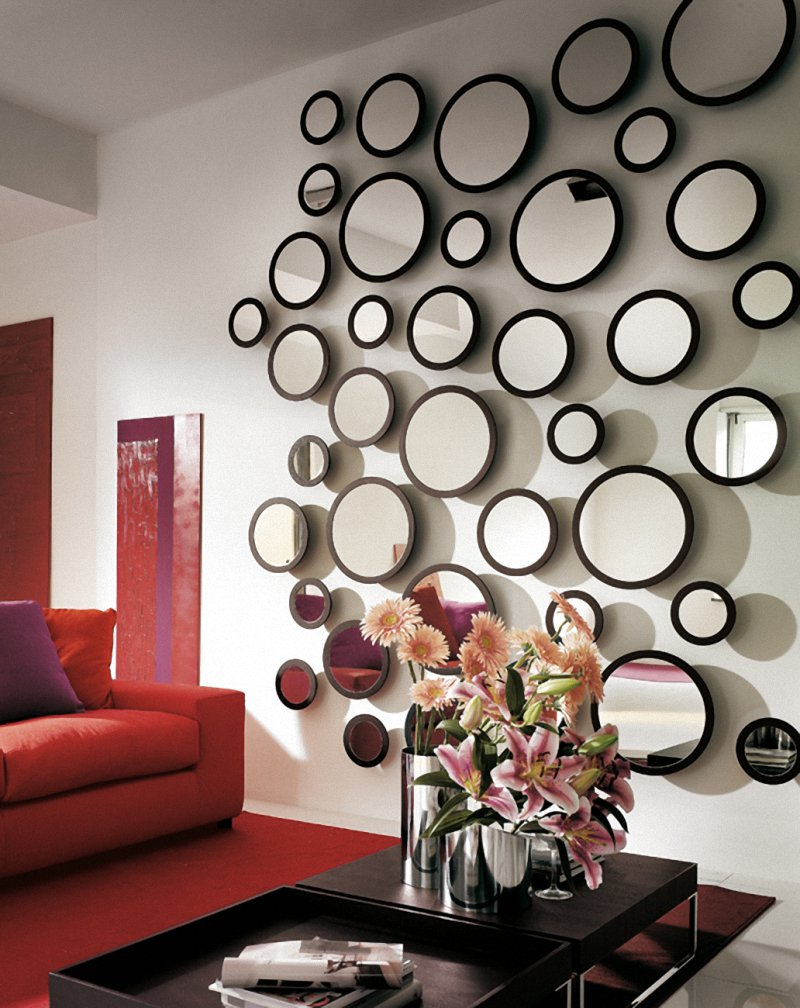 Image of: wall mirror decor