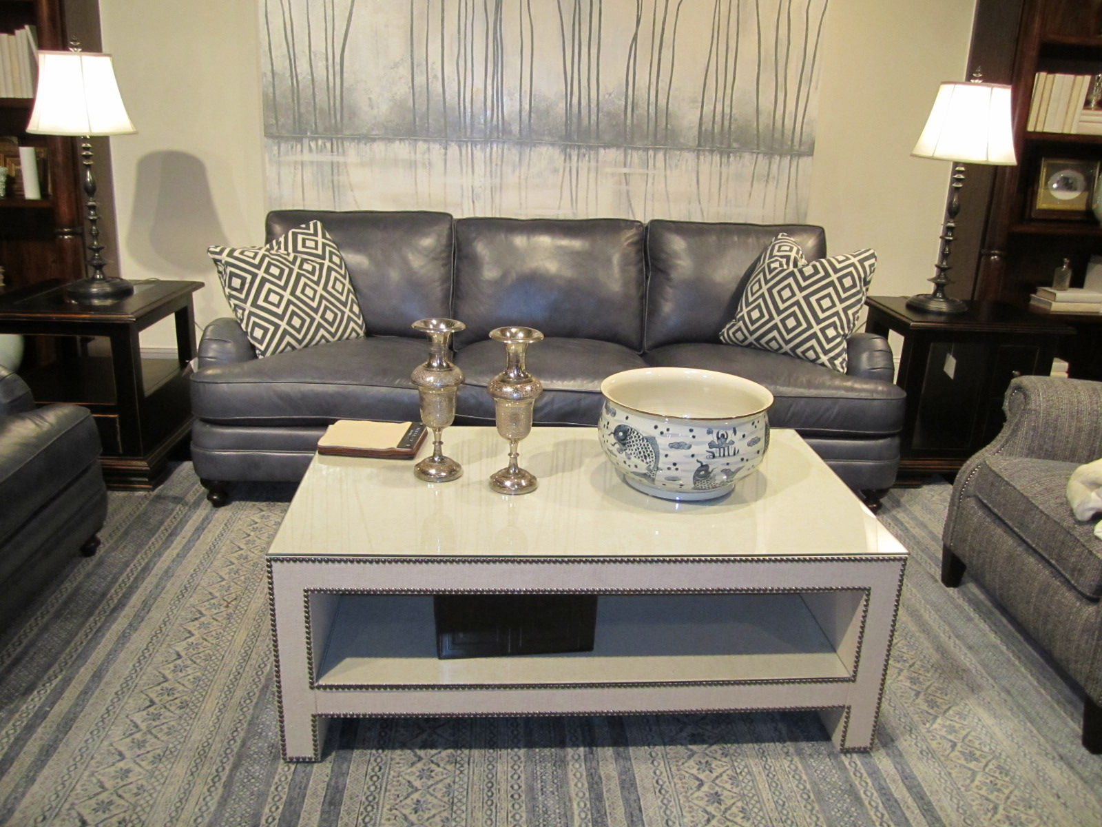 Image of: west elm parsons table