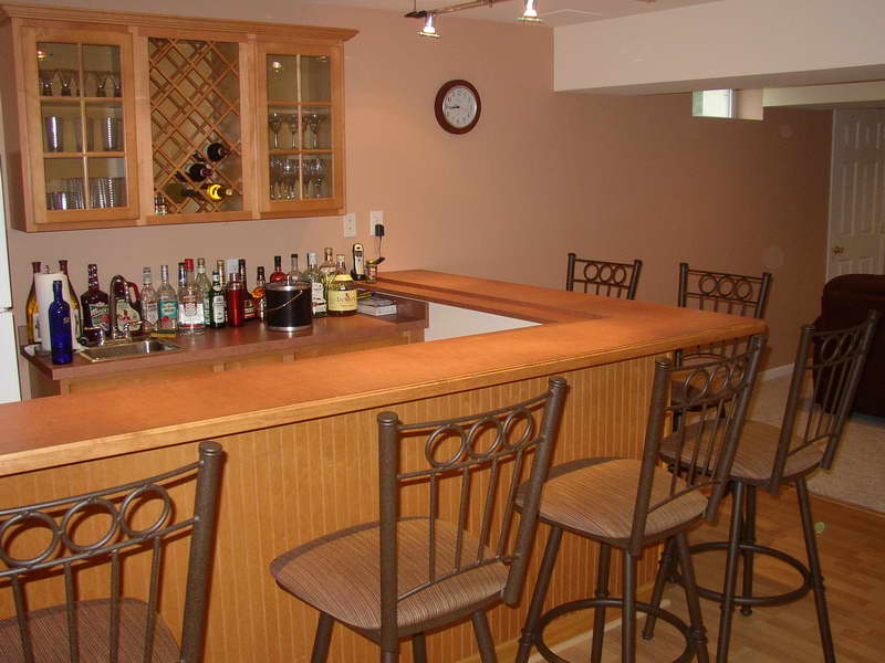 Image of: wet back bar designs