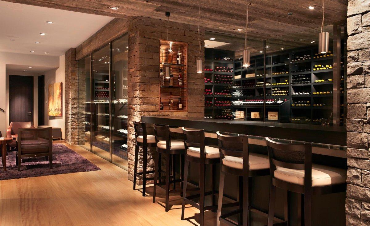 Image of: wine cellar bar design 784