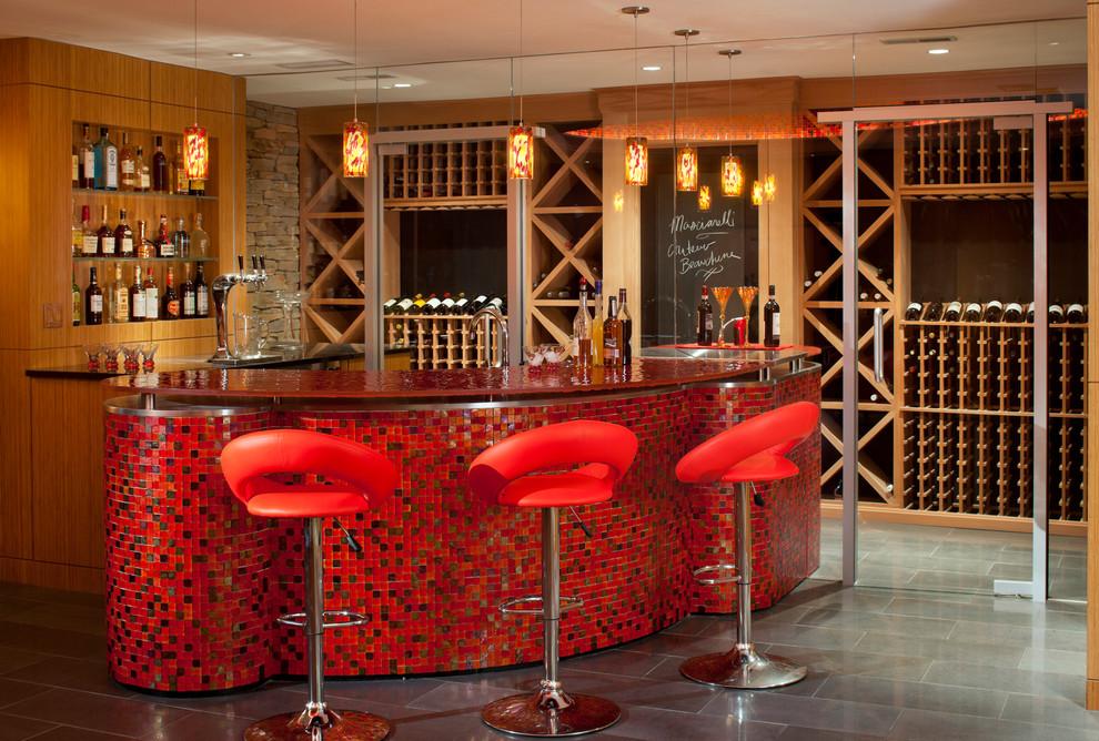 Image of: wine cellar bar design 813