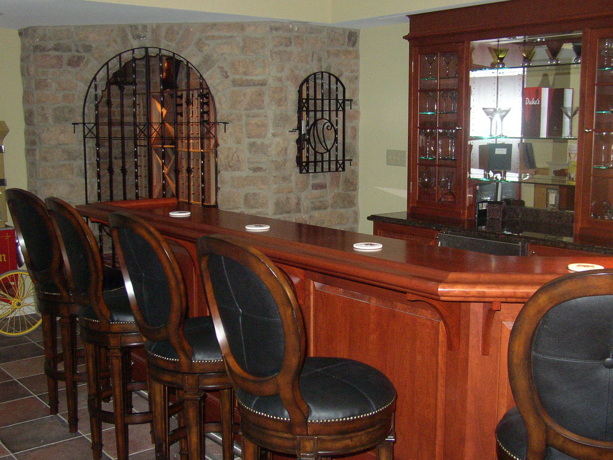 Image of: wine cellar bar design 989