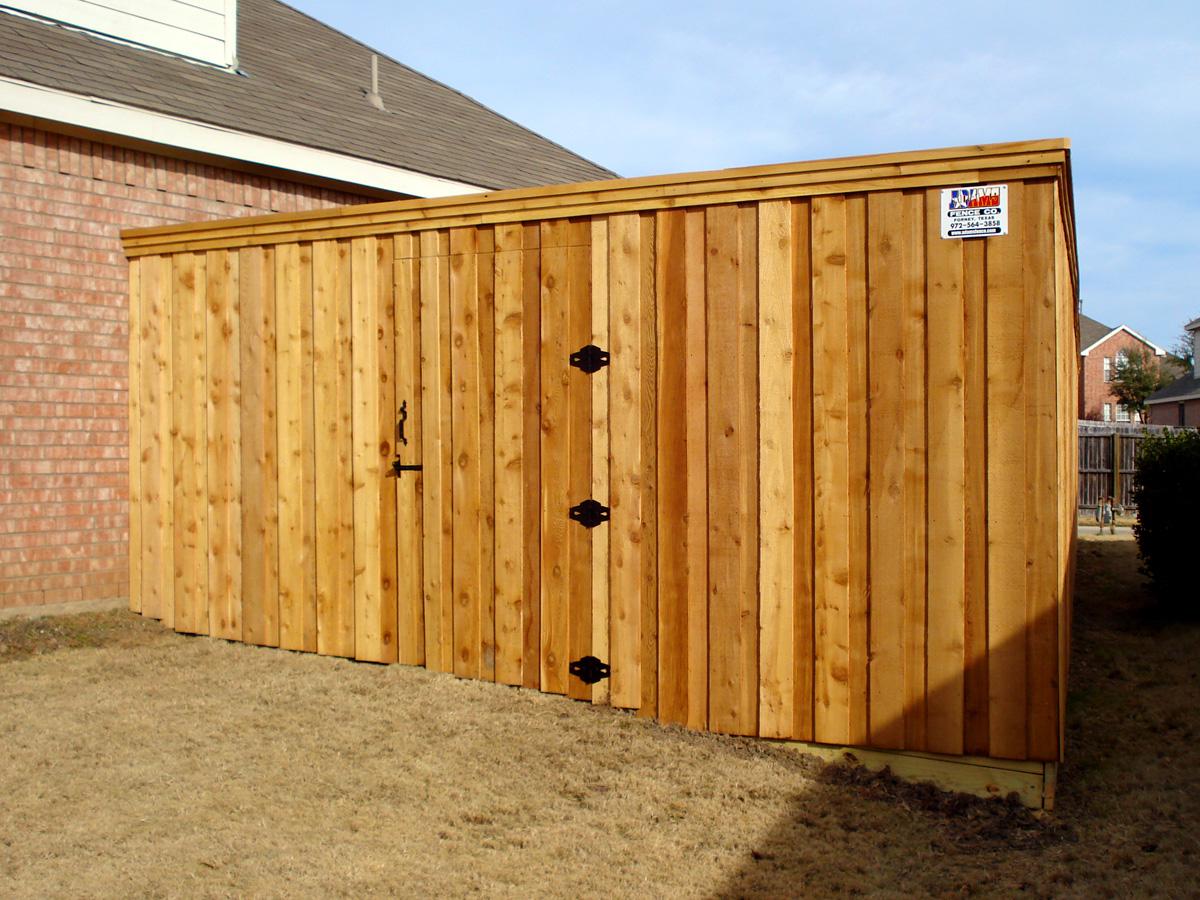 Image of: wooden fence gate design